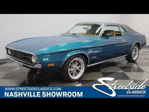 1972 Ford Mustang Grande For Sale 1054 Nsh Youtube