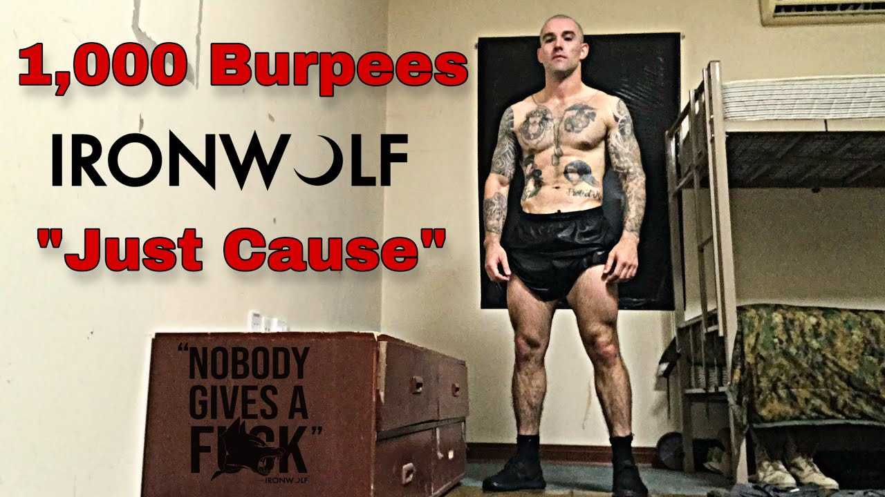 """1,000 burpees """"Just Cause"""" (Day 9 of 31)"""