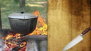 Куліш. Як приготувати український куліш на природі. Куліш старовинна смакота!