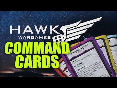 Hawk Wargames: Dropfleet Command Card Variety