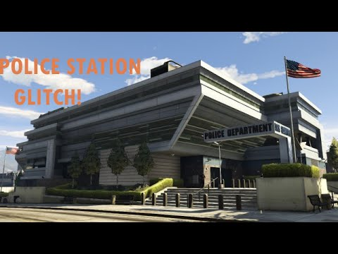 GTA 5 POLICE STATION HIDDEN LOCATION