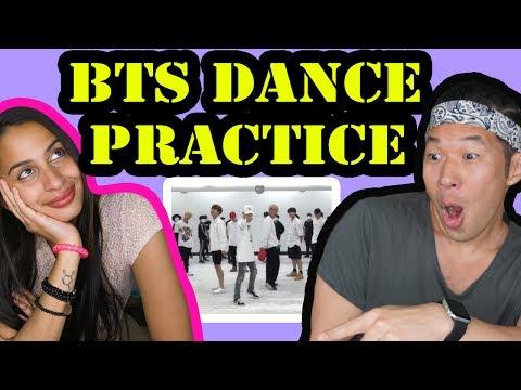 BTS - FIRE Dance Practice REACTION VIDEO!!