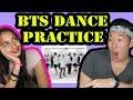 BTS FIRE Dance Practice REACTION VIDEO