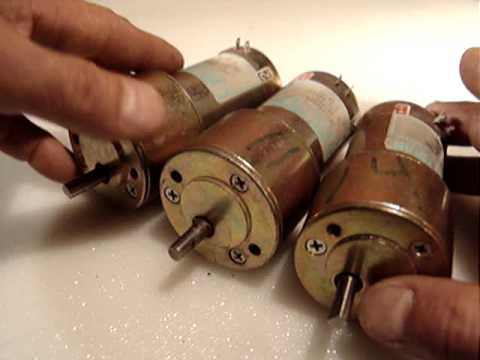 Pittman Gear Motor Youtube