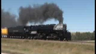 UP 3985 heads to railfest in North Platte NB 18sept08 thumbnail