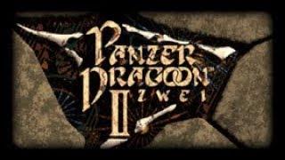 GAMEPLAY PANZER DRAGOON II ZWEI @ SEGA SATURN 60Hz