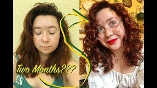 I Didn't Know My Hair Was Curly (Curly Girl Method) | Jadeikens