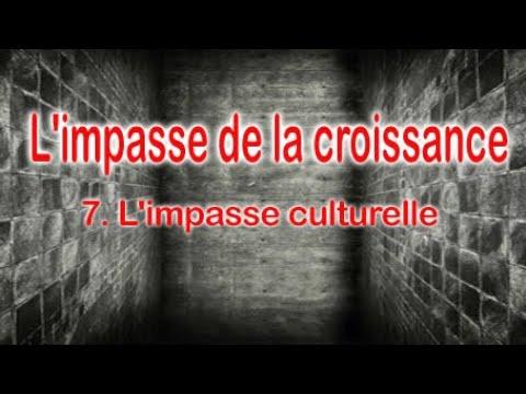 Christian Laurut - L'impasse de la croissance : 7. L'impasse culturelle