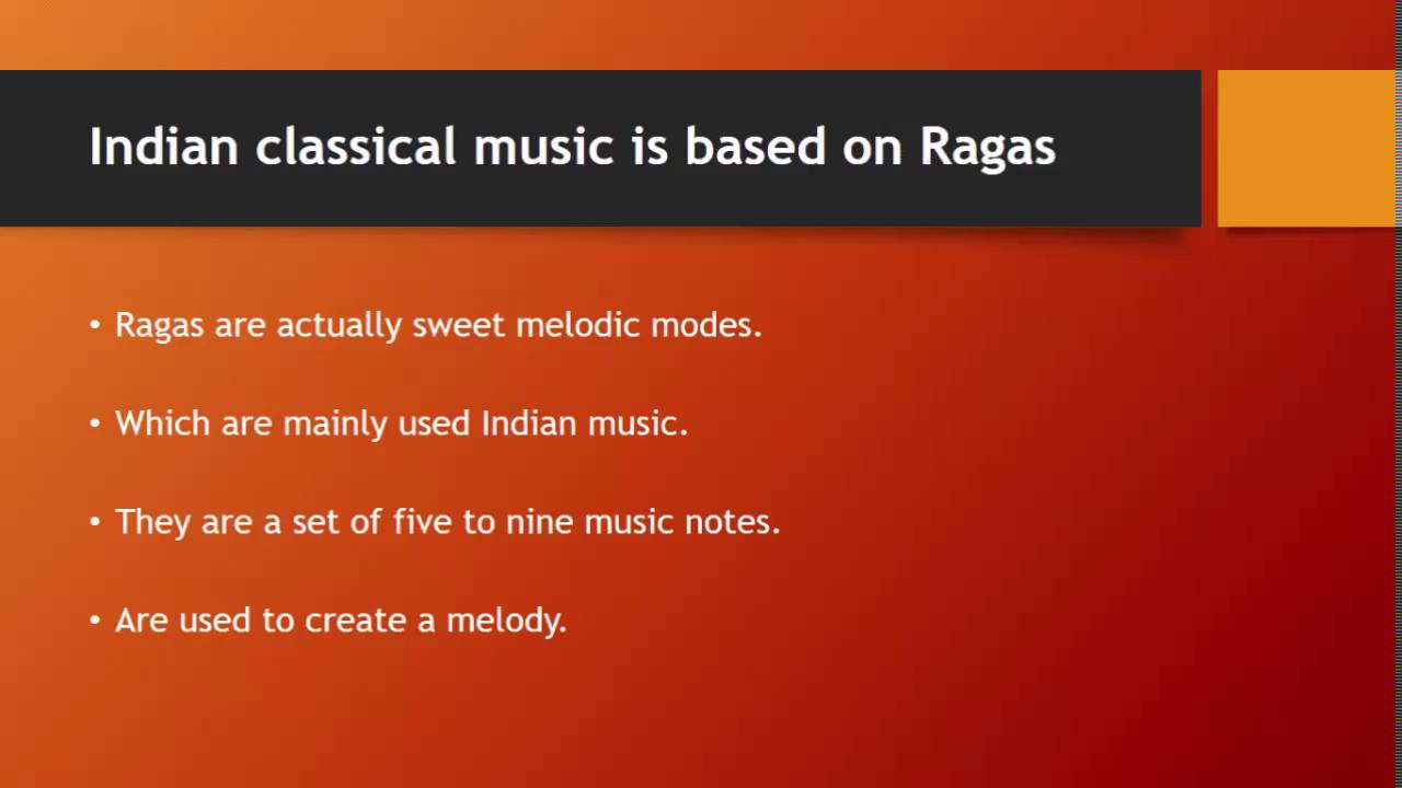 Important Facts About Indian Classical Music Youtube