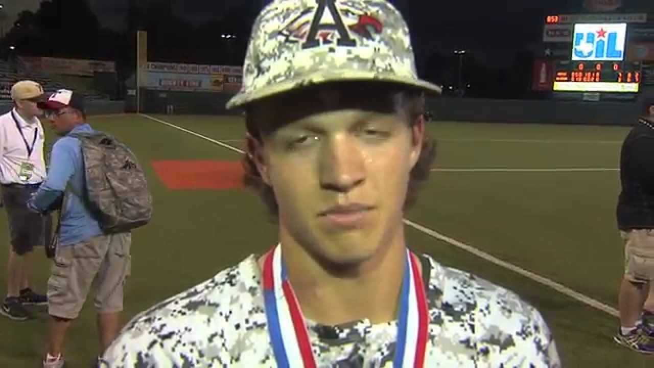 Argyle Interviews About 4A State Champs in Baseball - YouTube
