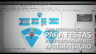 Como criar personalizados de festa profissionalmente - Apresentação