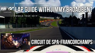 Mastering Spa-Francorchamps with Jimmy Broadbent - GT Sport Lap Guide