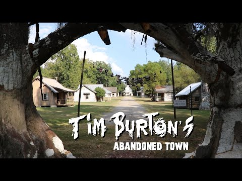 Tim Burton's ABANDONED Town - The Town Of Spectre (Big Fish Filming Location)