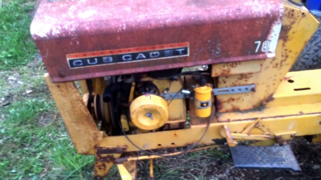 small resolution of cub cadet 70 after carb adjustment