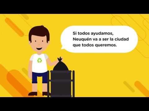 Pechi recuerda a los vecinos cómo separar la basura en sus casas