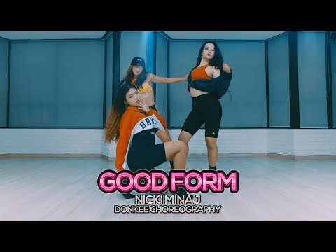 (LIVE SOUND) Nicki Minaj - Good Form : Donkee Choreography