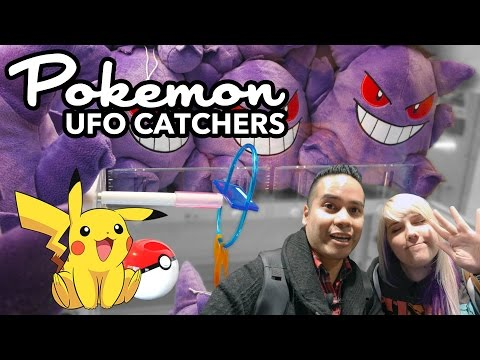 Winning Pokemon in Japan! UFO catcher wins at Sega World and Adores Ikebukuro