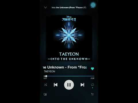 Download Into the Unknown Frozen 2 Taeyeon Mp4 baru