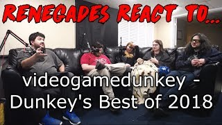 Renegades React to... videogamedunkey - Dunkey's Best of 2018