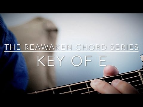 Key Of E Chords Guitar Tutorial Youtube