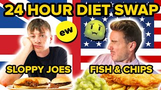 A Brit & An American Swap Diets For 24 Hours