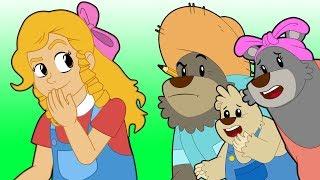 ゴルディロックスと3匹のくま アニメ | 子供のためのおとぎ話