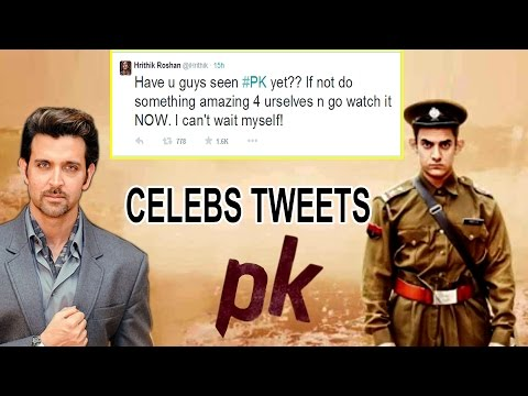 Bollywood Celebs Tweets about PK Movie - Aamir Khan, Anushka Sharma