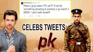 Bollywood Celebs Tweets about PK Movie - Aamir Khan, Anushka Sharma