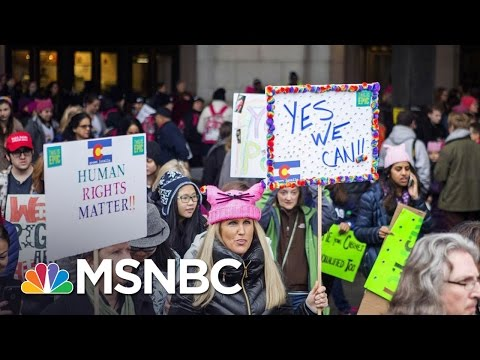 Women's March On Washington: A 'Revival' Of The Progressive Movement | MSNBC