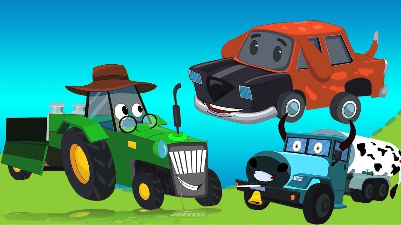 Macdonald cũ đã có một trang trại | vần điệu cho trẻ em | Farm Rhymes | Old Macdonald Had a Farm
