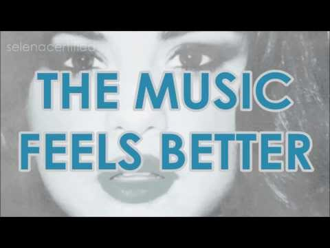 Selena Gomez -- Music Feels Better (HD Official Lyrics Video)