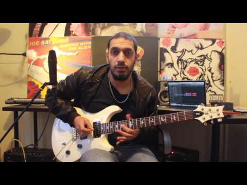 How to play 'Jump In The Fire' by Metallica Guitar Solo Lesson w/tabs pt1