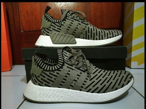 adidas NMD R2 Primeknit Ba7252 Core Black Core Red Bred