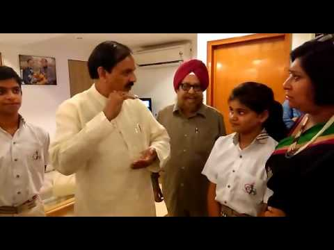 An interactive session with Dr. Mahesh Sharma – Minister of Culture and Tourism