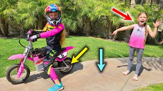Trinity Pulls Madison&#39s Tooth With Her Motorcycle!!!