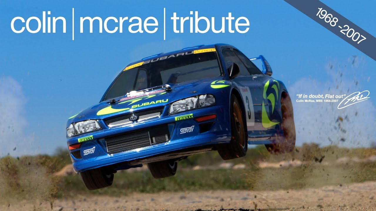 Tribute Colin McRae 10 Years Today...