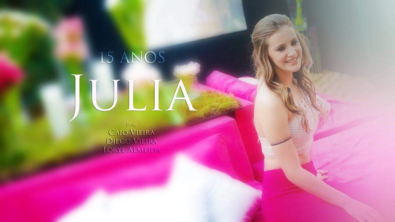Julia 15 anos teaser youtube for Cubre sillas para 15 anos