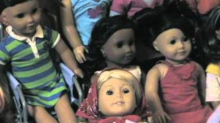 All My American Girl Dolls