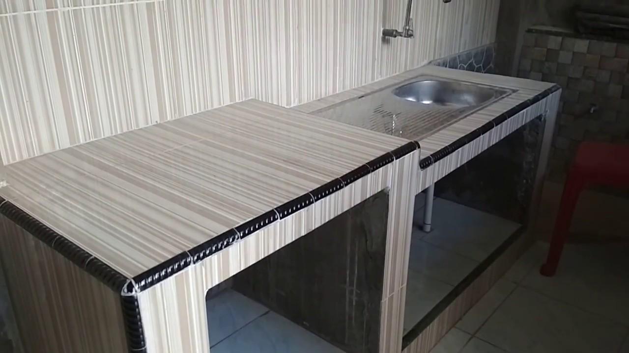 Meja Dapur Keramik Desainrumahid com