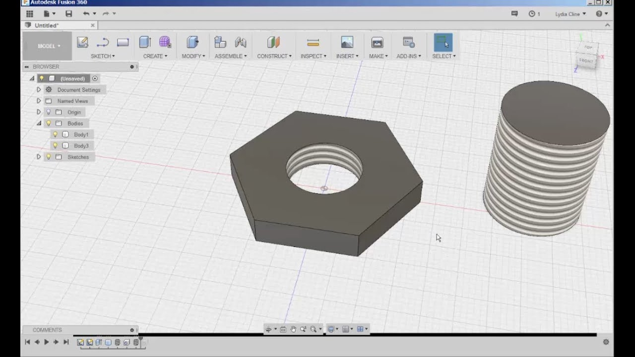 Fusion 360: The Hole and Thread Tools