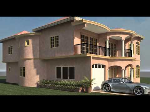 Trelawny luxury modern architecture architect jamaica for Jamaica house plans