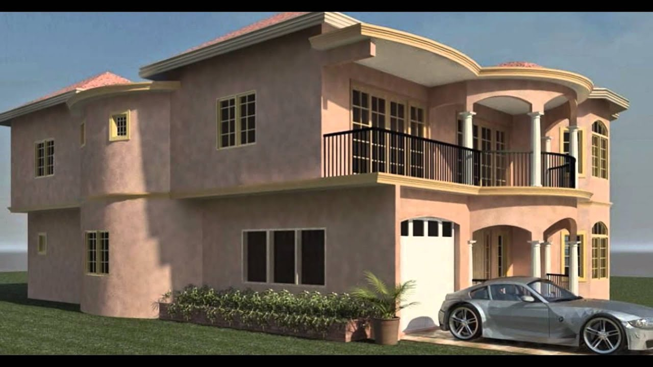 Trelawny luxury modern architecture architect jamaica for Jamaican house designs