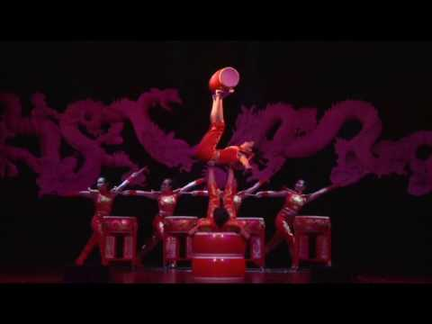 Imperial Acrobats of China——Foot Juggling of Drums