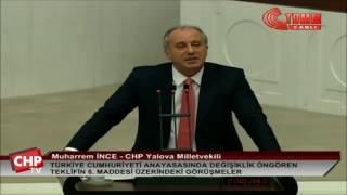 Yalova Milletvekili Muharrem İnce - 6. Madde Görüşmeleri - 12/01/2017