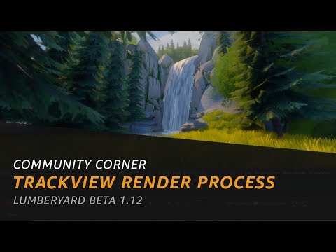 Setting up and Rendering videos with Track View in Lumberyard