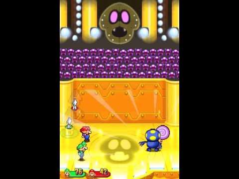 Mario Luigi Partners In Time Vs Shrooboid Brat Youtube