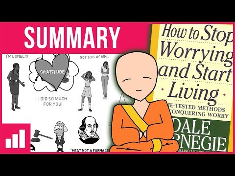 How to Stop Worrying and Start Living by Dale Carnegie ► Animated Book Summary