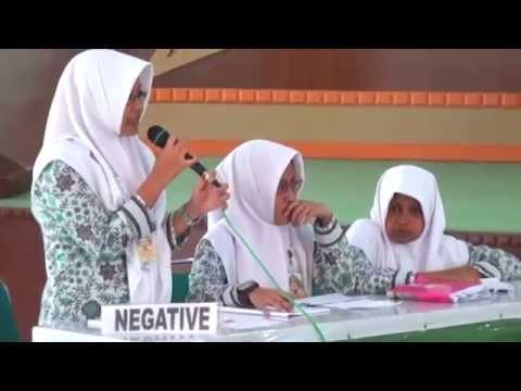 English Debate Senior High School Group I Session I