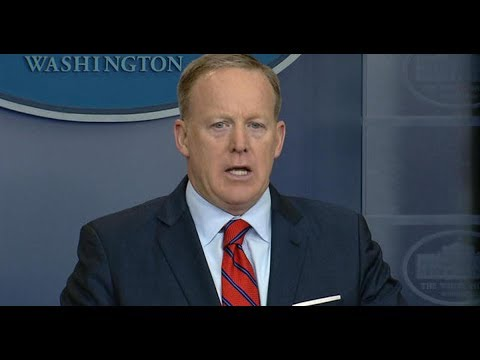 White House Press Secretary Sean Spicer Resigns  He's been in hot water almost from the beginning