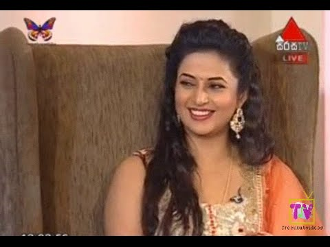 Me Adarayai Ishitha (Divyanka Thripati),Ruhi Came to Sri Lanka Live Tv Interview